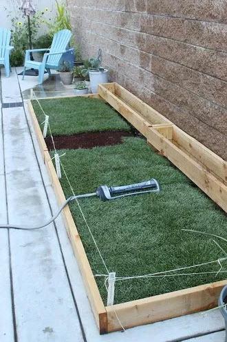 15 Diy Dog Porch Potty Grass Box